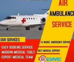 Super Specialist Emergency Air Ambulance Services in Delhi by Medivic
