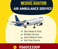 Get Fast-Rated Medivic Air Ambulance Services in Guwahati with ICU